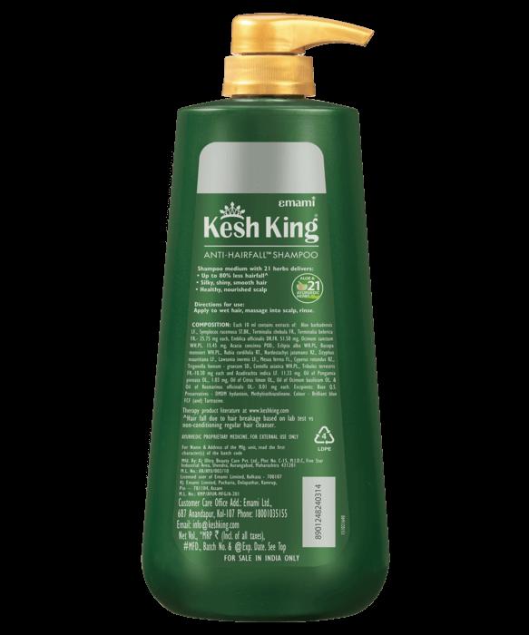 Kesh King Ayurvedic Shampoo 600ml