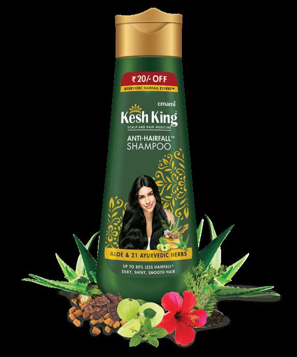 Kesh King Ayurvedic Shampoo 80ml