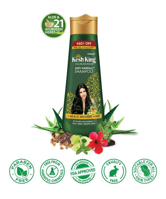 Kesh King Ayuvedic Shampoo for Hair Fall - 340ml