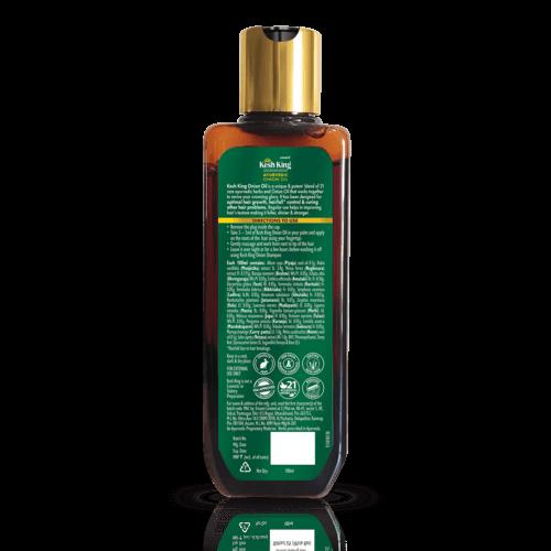 Kesh King Ayurvedic Onion Oil 200ml & Onion Shampoo 300ml Combo
