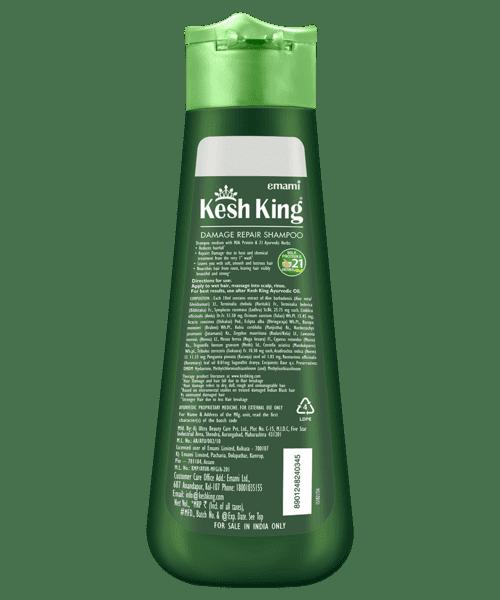 Kesh King Damage Repair Shampoo 340ml