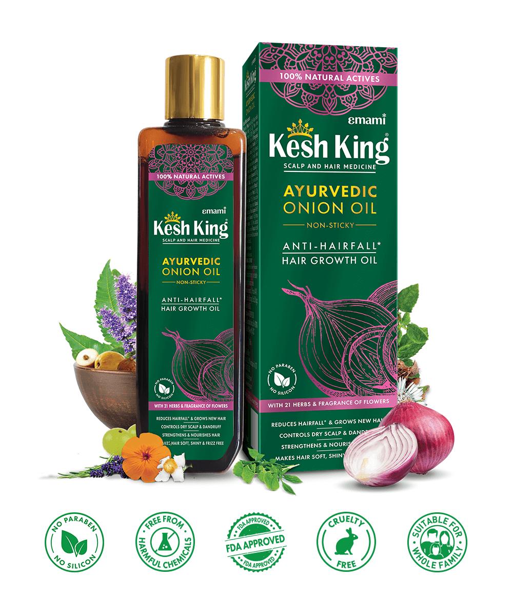 Kesh King Ayurvedic Onion Oil 200ml